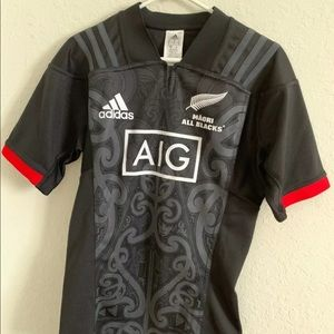 NWT Adidas New Zealand All Blacks Rugby Jersey